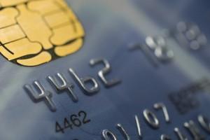 So sieht eine typische Kreditkarte aus